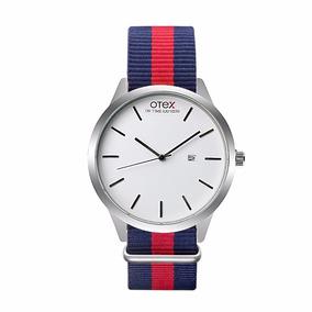 Relógio Quartzo Otex Masculino Ou Feminino Nylon & Leather