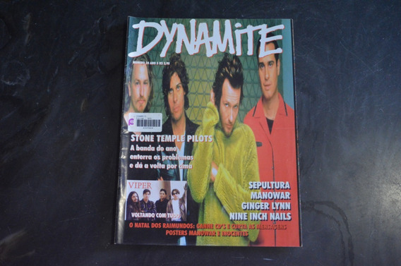 Dynamite 24 Stone Temple Pilots Revista