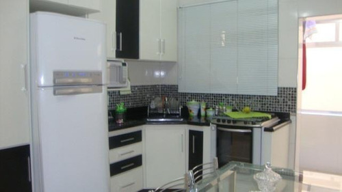 Apartamento Com 2 Dormitórios À Venda, 78 M² Por R$ 360.000,00 - Campo Grande - Santos/sp - Ap1682