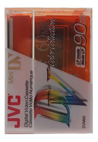 Kit Fita Jvc Mini Dv M-dv60 Caixa Com 5 Uni Super Promoçäo