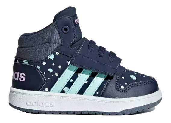 Zapatillas adidas Botitas Hoops Mid 2.0 Bebes Niños Vs Color