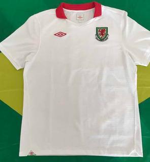 Camisa Oficial Umbro Seleção País De Gales Futebol 2011 G