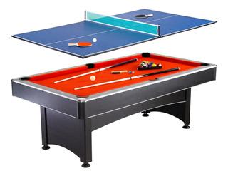 Mesa 2 En 1 Billar Y Ping Pong