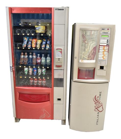 Máquina Expendedora De Golosinas Y Refrescos Smeraldo 56