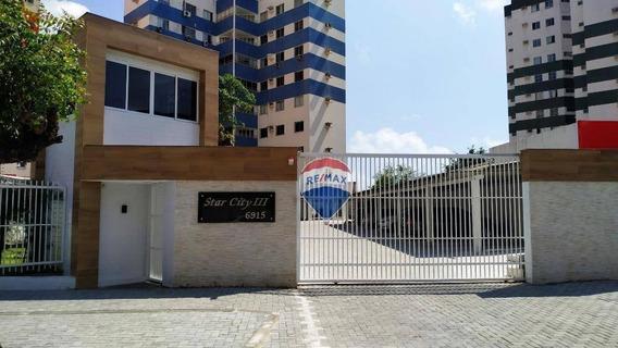 Apartamento Com 3 Dormitórios À Venda, 103 M² Por R$ 320.000 - Cocó - Fortaleza/ce - Ap0055