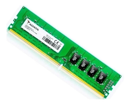 Imagem 1 de 2 de Memória Ram 8gb Ddr4 2666mhz Adata Desktop Ad4u266638g19-b