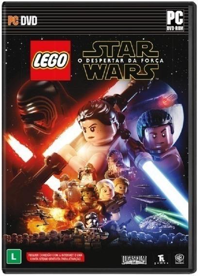 Lego Star Wars - Jogo P/ Pc Original - Midia Fisica Lacrado