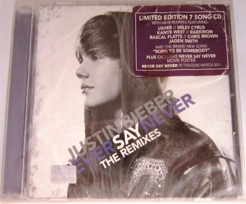 Justin Bieber - Never Say Never The Remixes Nuevo