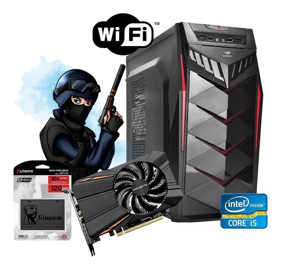 Pc Gamer Core I5 3470 4gb Ssd 120gb + Gtx 750ti 2gb