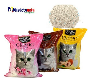 Arena Premium 7 Kilos Para Gatos Kit Cat Ultra Absorbente