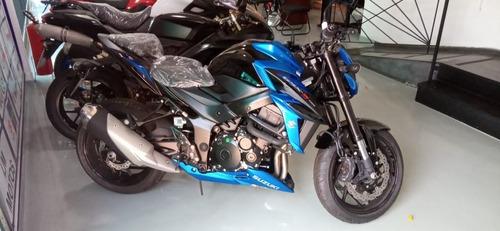 Imagem 1 de 8 de Gsx-s 750 A  Azul Zero Km