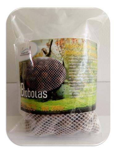 Biobolas, Material Filtrante Para Acuarios.