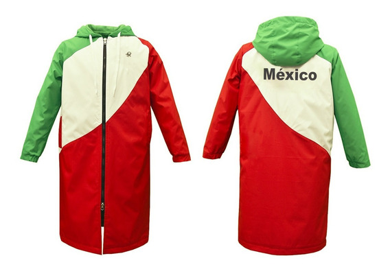 Parka De Adulto Abrigo Deportivo Mexico
