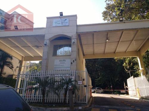Apartamento Com 2 Dormitórios À Venda, 54 M² Por R$ 260.000,00 - Residencial Costa Verde - Cotia/sp - Ap0374