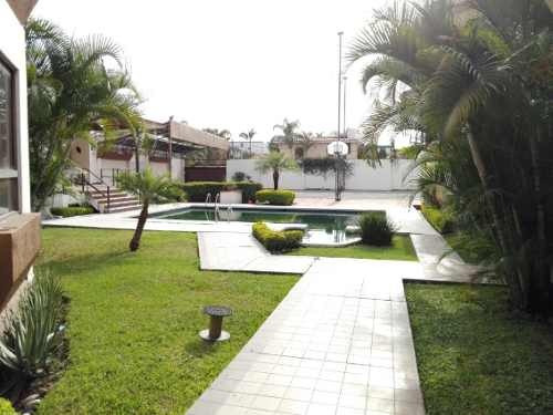 Casa En Condominio En Real Hacienda De San José Sumiya / Jiutepec Ber-537-cd