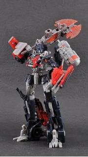 Optimus Prime Fireburst Voyager Class Transformers 2011 Dotm