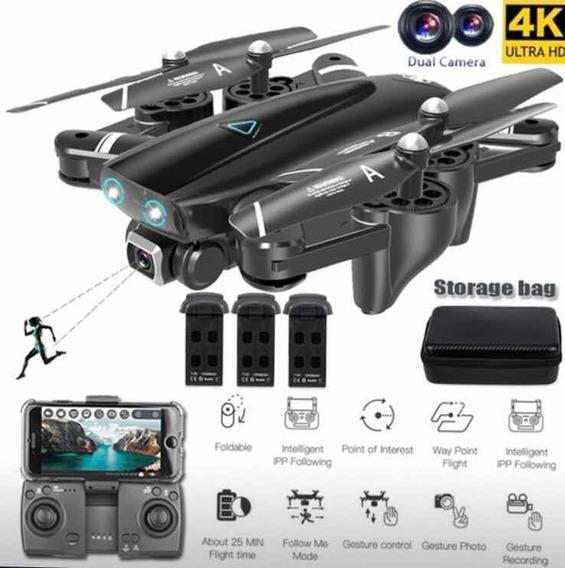 Drone S167 Com 3 Baterias E Bag De Transporte