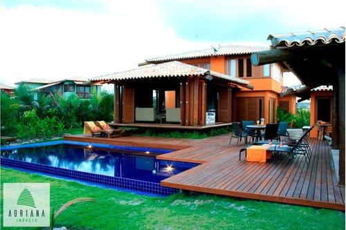 Imagem 1 de 30 de Condomínio Casas De Sauipe Aluguel Temporada - 4381