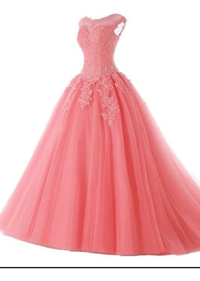 Vestido Debutante (15 Anos) - Tamanho 44-46