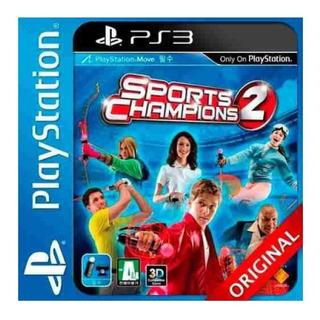 Sports Champions 2 + Golf Dlc Ps3 Move Goroplay Digital