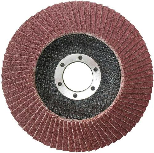 Imagen 1 de 3 de Disco Desbaste Flap 4 ½'' Amoladora Grano 40 Ingco Fd1151