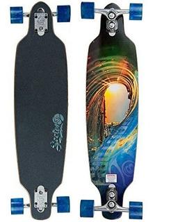 Sector 9 Fractal Skateboard Completo, 9.0 X 36.0 Pulgadas