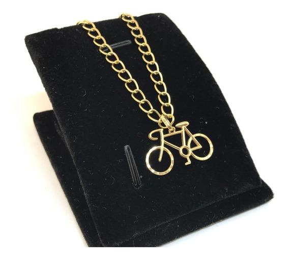 Pulseira Ouro 18k Pingente Ouro 18k Bicicleta