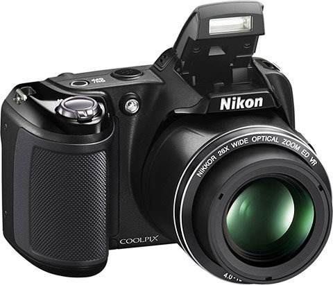 Câmera Semi Profissional Nikon L810+pilhas+carregador