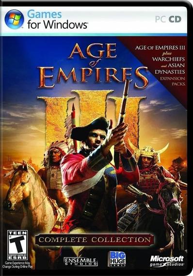 Age Of Empires 3 Pc Envio Digital Frete Gratis