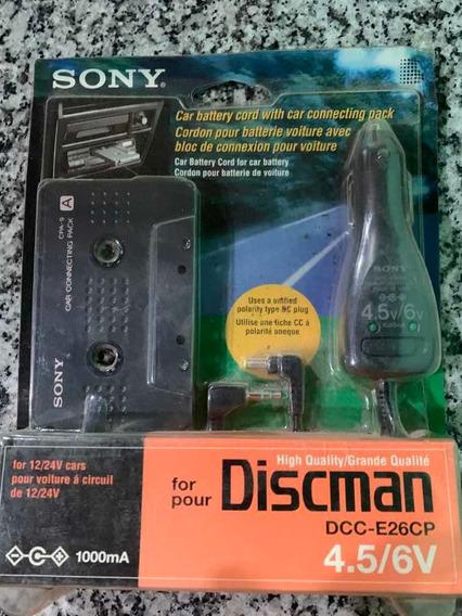 Kit Discman Sony Dcc-e26cp Novo