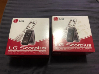 Celular LG Scorpius Novo Lacrado Modelo Kp215b!!!