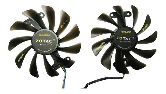 Dual Cooler Placa D Video Zotac Geforce Gtx 1070 Amp Edition