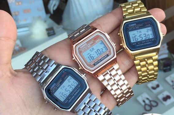 Relógio Casio Vintage Em Promoção - Dourado, Prata E Prata