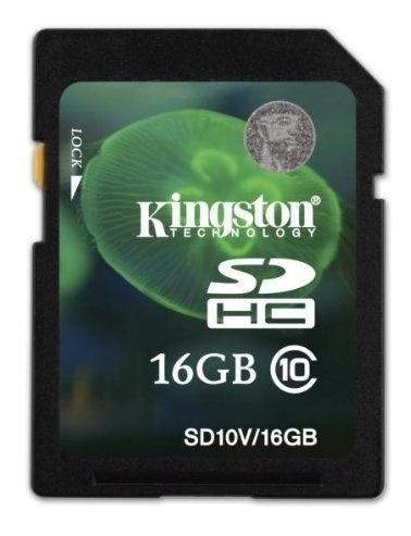 Cartão De Memoria Sdhc 16gb Classe 10 Sd10/16gb Kingston