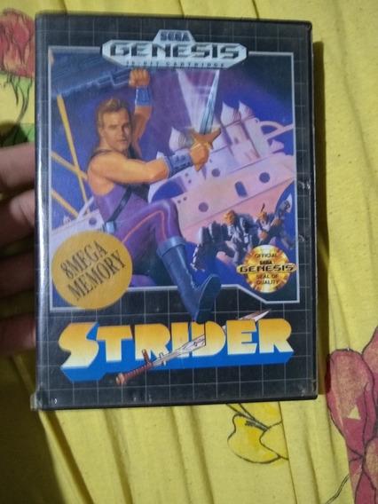 Strider Megadrive Original