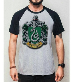 Slytherin Camisa Masculina - Blusa Harry Potter