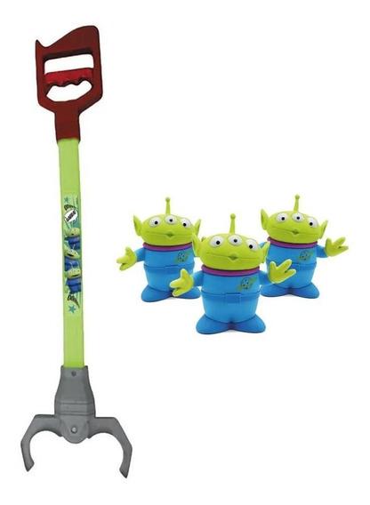 Garra Infantil Toy Story 4 Com 3 Aliens