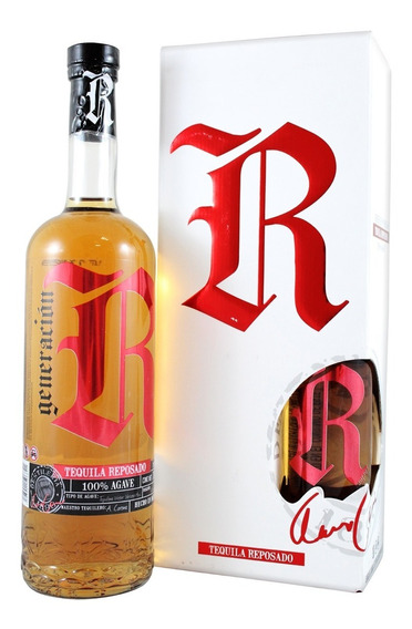 Tequila Generacion Rebelde Reposado 750 Ml + Botella 250 Ml