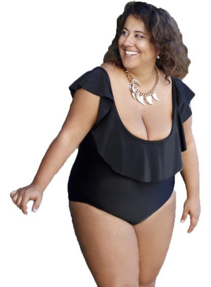 Malla Enteriza 2019 Mujer Vedetina Kachet Talles Grandes 6-8