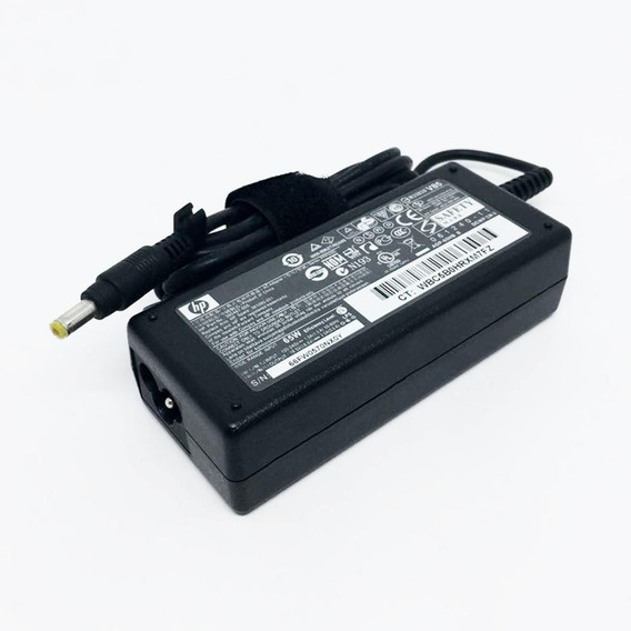Fonte P/ Notebook Original Hp Dv6000 Dv2000 - 18.5v 3.5a