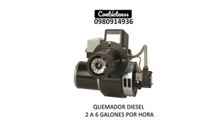 Quemador Diesel Secadora De Cacao Freidoras Calderas Hornos
