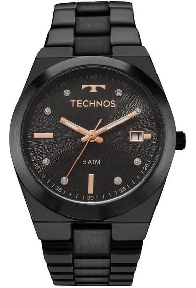 Relógio Feminino Technos Trend 2115kzs/5p Preto