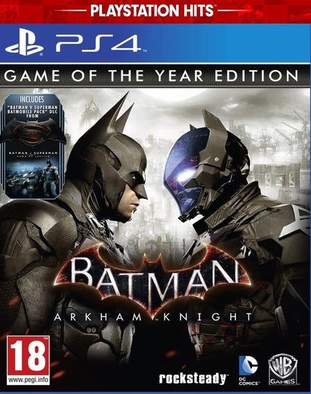 Batman Arkham Knight De Ps4 Mídia Digital Promoção Primaria
