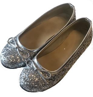 Chatitas Zapatos Ballerinas Nena Brillo Glitter Fabricantes