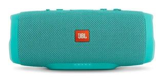 Bocina JBL Charge 3 portátil inalámbrica Teal