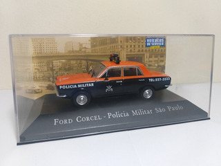 Ford Corcel Polícia Militar São Paulo Veic De Serviços 1/43