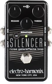 Pedal Electro Harmonix Silencer Noise Gate C/ Nf-e Garantia