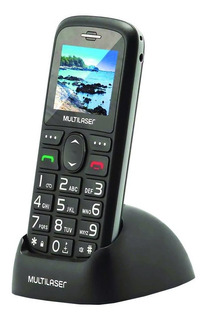 Telefone Celular Fixo 3g Dual Chip Multilaser Vita Com Base