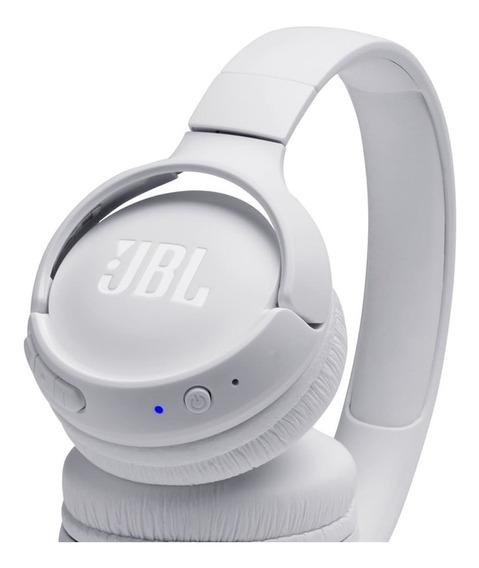 Fone De Ouvido Bluetooth Jbl Tune 500bt Branco Dobrável