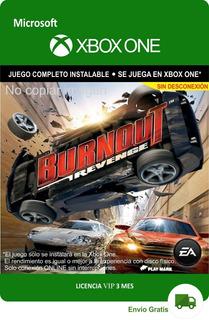 Burnout Revenge Xbox One - Envío Gratis -